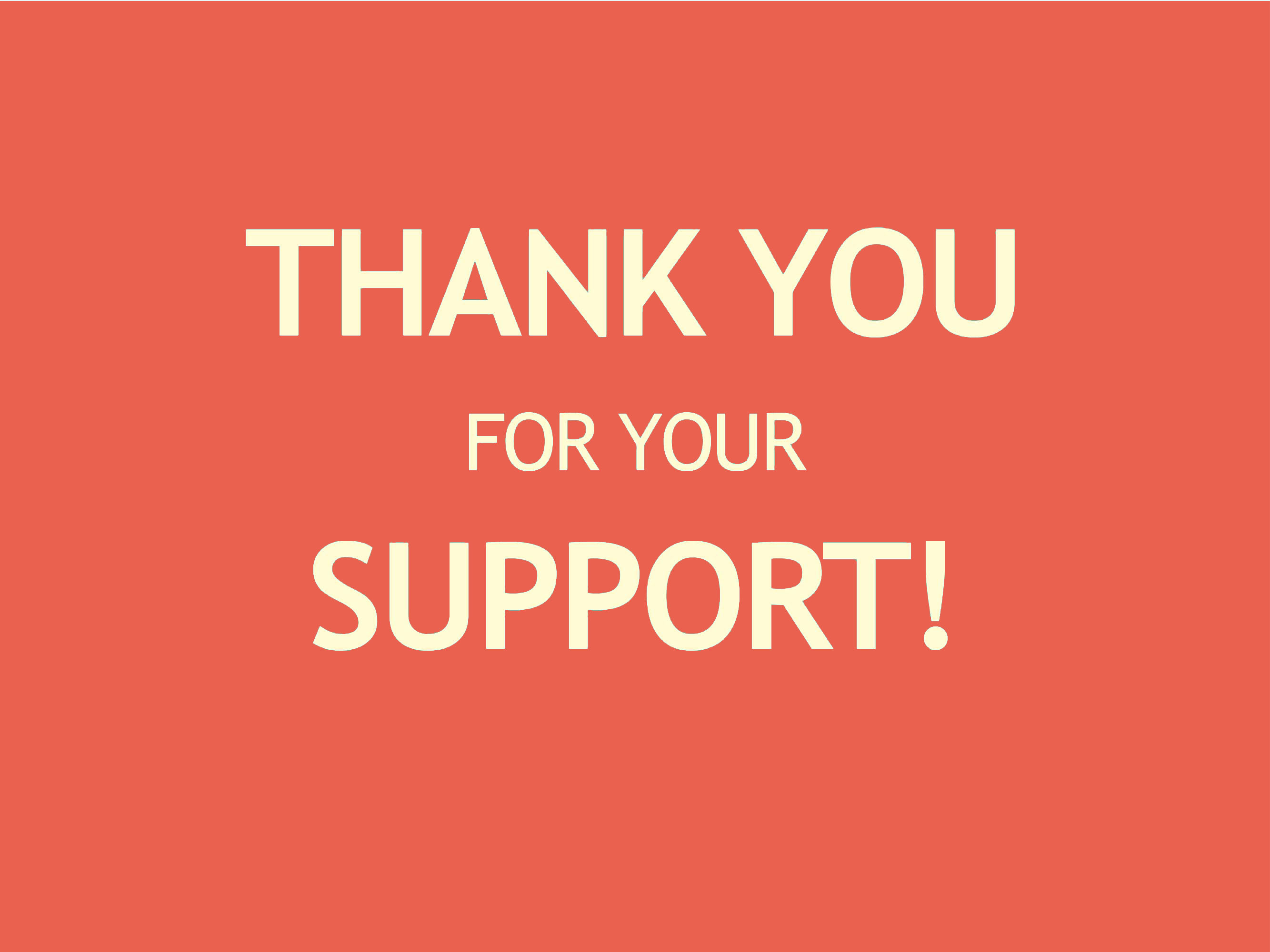 thank you for fundraiser